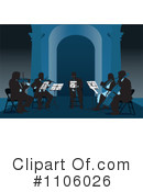 Royalty-Free (RF) Orchestra Clipart Illustration #1106026