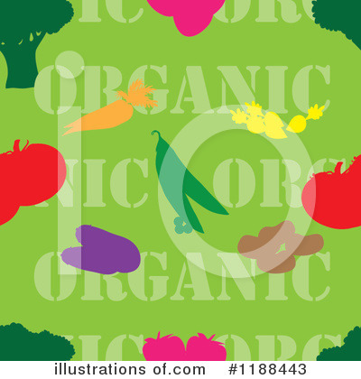 Vegetable Clipart #1188443 by Maria Bell