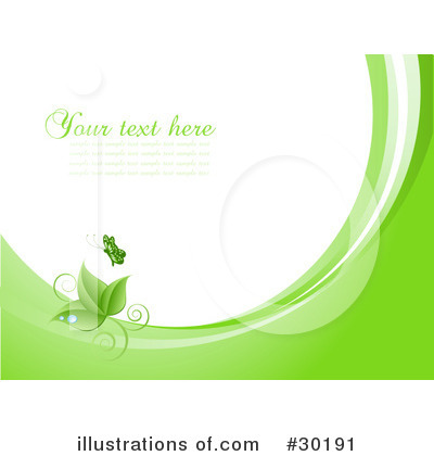 Leaves Clipart #30191 by KJ Pargeter