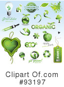 Royalty-Free (RF) Organic Clipart Illustration #93197