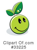 Organic Emoticon Clipart #33225