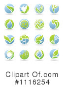 Royalty-Free (RF) Organics Clipart Illustration #1116254