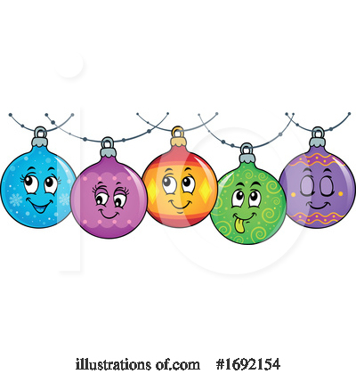 Royalty-Free (RF) Ornament Clipart Illustration by visekart - Stock Sample #1692154