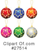 Royalty-Free (RF) Ornaments Clipart Illustration #27514