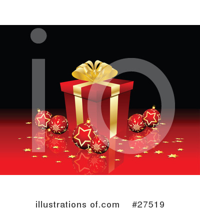 Christmas Gift Clipart #27519 by KJ Pargeter
