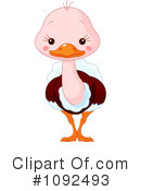 Royalty-Free (RF) Ostrich Clipart Illustration #1092493