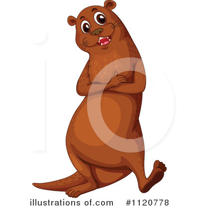 Otter Clipart #1120778 by Graphics RF