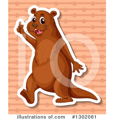 Otter Clipart #1302061 by Graphics RF