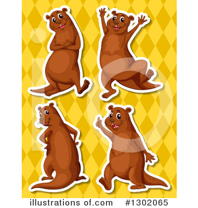 Otter Clipart #1302065 by Graphics RF