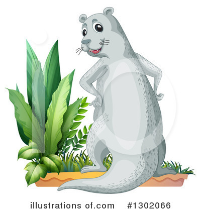 Otter Clipart #1302066 by Graphics RF