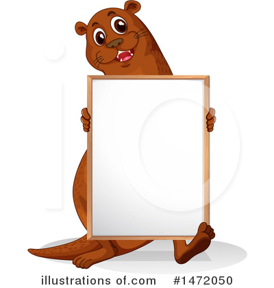Otter Clipart #1472050 by Graphics RF