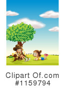 Outdoors Clipart #1159794 by Graphics RF