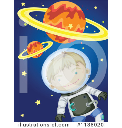 Astronaut Clipart #1138020 by Graphics RF