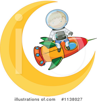 Astronaut Clipart #1138027 by Graphics RF