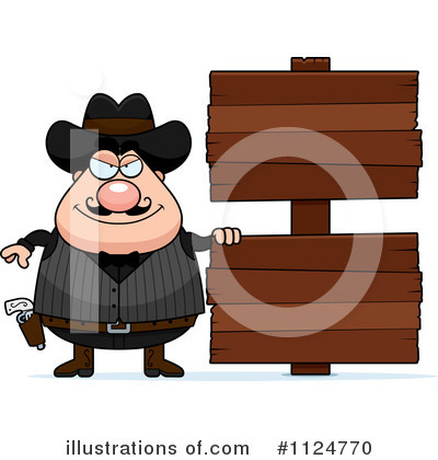 Outlaw Clipart #1124770 by Cory Thoman