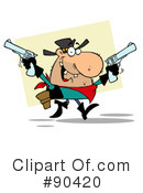 Outlaw Clipart #90420 by Hit Toon