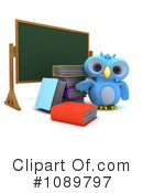 Royalty-Free (RF) Owl Clipart Illustration #1089797