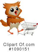 Royalty-Free (RF) Owl Clipart Illustration #1090151