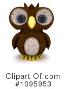 Owl Clipart #1095953 by KJ Pargeter