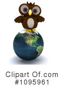Owl Clipart #1095961 by KJ Pargeter