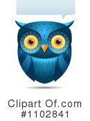 Royalty-Free (RF) owl Clipart Illustration #1102841