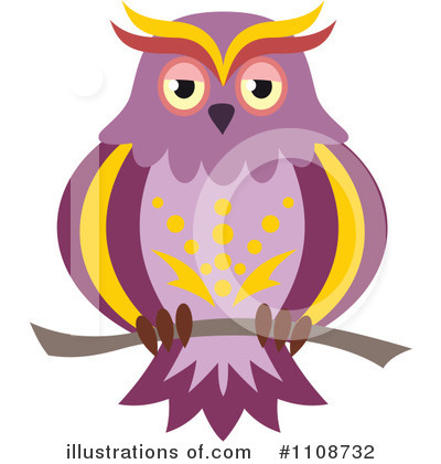 Owl Clipart #1108732 by Vector Tradition SM