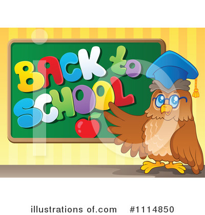 Professor Owl Clipart #1114850 by visekart