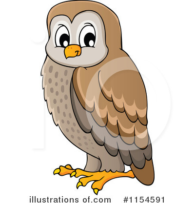 Owl Clipart #1154591 by visekart