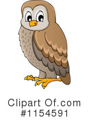 Royalty-Free (RF) Owl Clipart Illustration #1154591