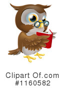 Owl Clipart #1160582 by AtStockIllustration