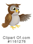 Royalty-Free (RF) owl Clipart Illustration #1161276