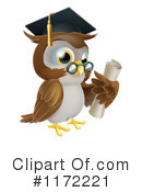 Owl Clipart #1172221 by AtStockIllustration
