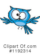 Royalty-Free (RF) Owl Clipart Illustration #1192314