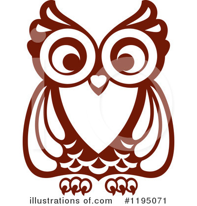 Owl Clipart #1195071 by Vector Tradition SM