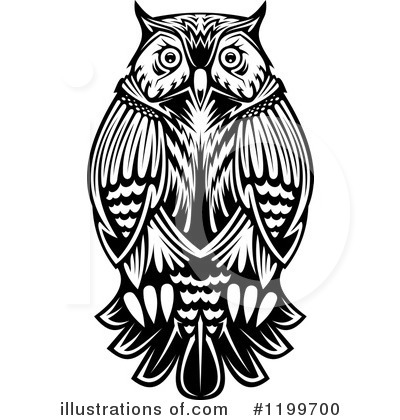 Owl Clipart #1199700 by Vector Tradition SM