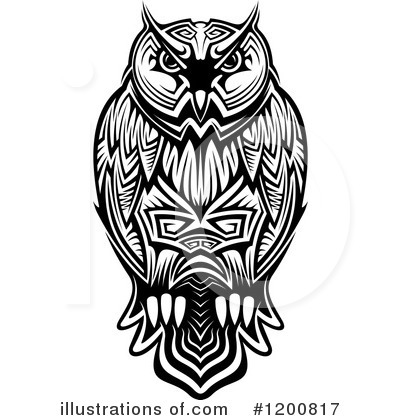 Owl Clipart #1200817 by Vector Tradition SM