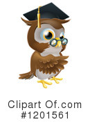 Owl Clipart #1201561 by AtStockIllustration