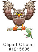 Owl Clipart #1215696 by Zooco