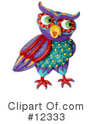 Royalty-Free (RF) Owl Clipart Illustration #12333