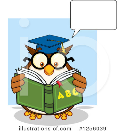 Reading Clipart #1256039 by Hit Toon