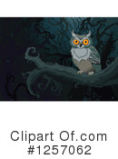 Royalty-Free (RF) Owl Clipart Illustration #1257062