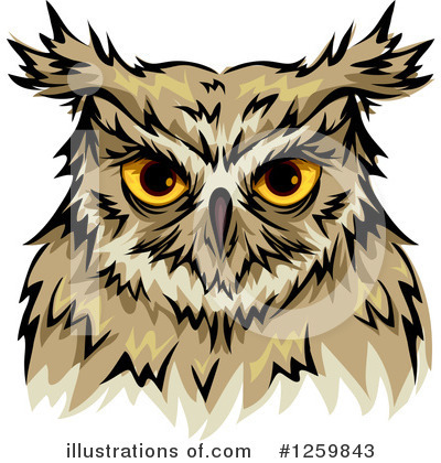 Owl Clipart #1259843 by BNP Design Studio