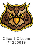 Owl Clipart #1260619 by Chromaco