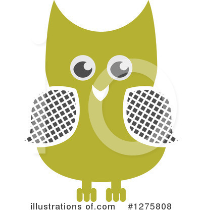 Owl Clipart #1275808 by Vector Tradition SM