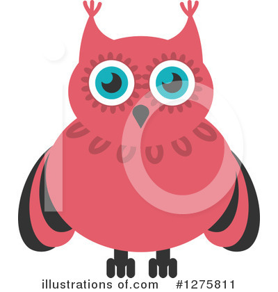 Owl Clipart #1275811 by Vector Tradition SM