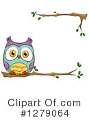 Royalty-Free (RF) Owl Clipart Illustration #1279064