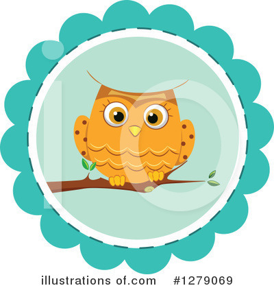 Owl Clipart #1279069 by BNP Design Studio