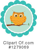 Royalty-Free (RF) Owl Clipart Illustration #1279069