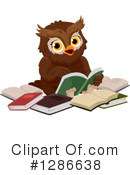 Royalty-Free (RF) Owl Clipart Illustration #1286638