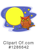 Royalty-Free (RF) Owl Clipart Illustration #1286642